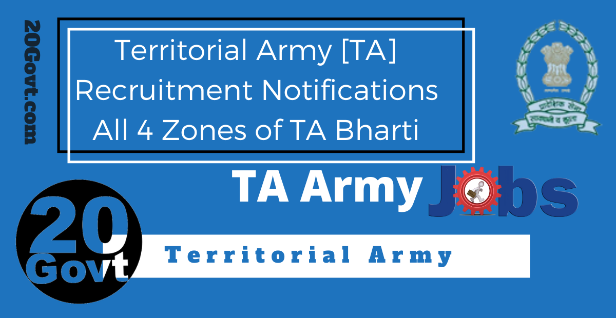 Territorial Army Recruitment Notification