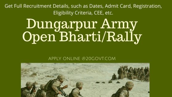 Dungarpur Army Open Bharti Rally-560x315
