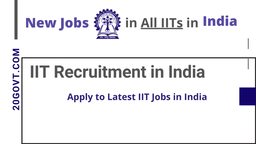 IIT Recruitment in India for Latest Jobs in All IITs-1200x675